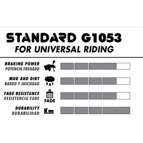 GALFER BIKE Standard Brake Pads Avid X0 Trail/7 Trail/9 Trail/SRAM Guide
